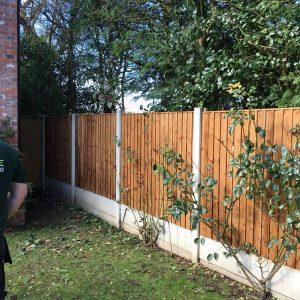 garden fencing Cheshire