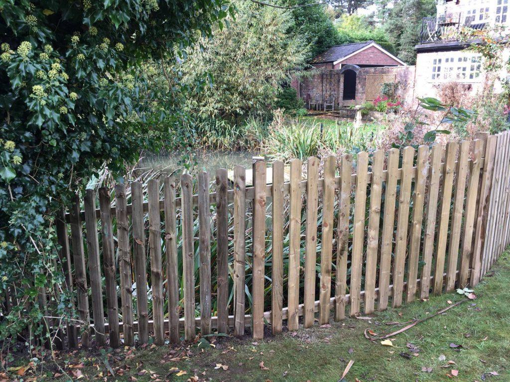 garden fencing bowdon, cheshire