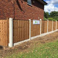 garden fencing altrincham, cheshire