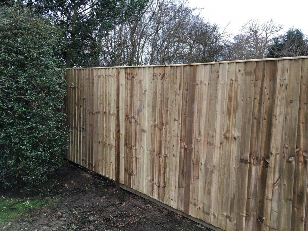 garden fencing hale, cheshire