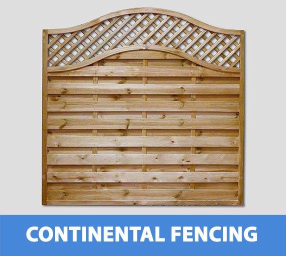 continental garden fencing