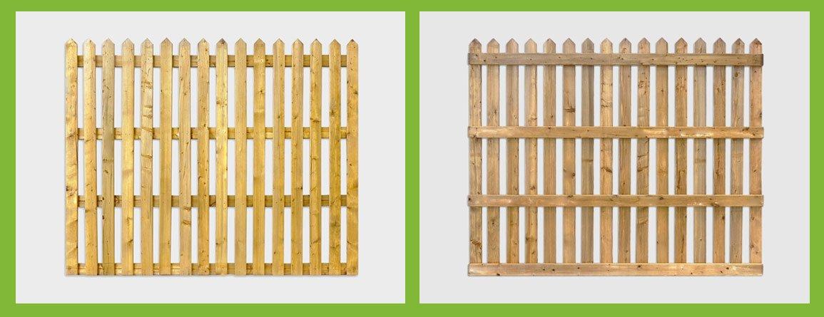 picket garden fencing