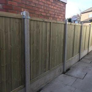 garden fencing knutsford, cheshire